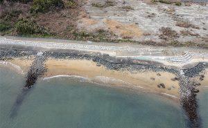 博多湾上空から撮影