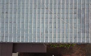 塗装前家屋屋根の状況